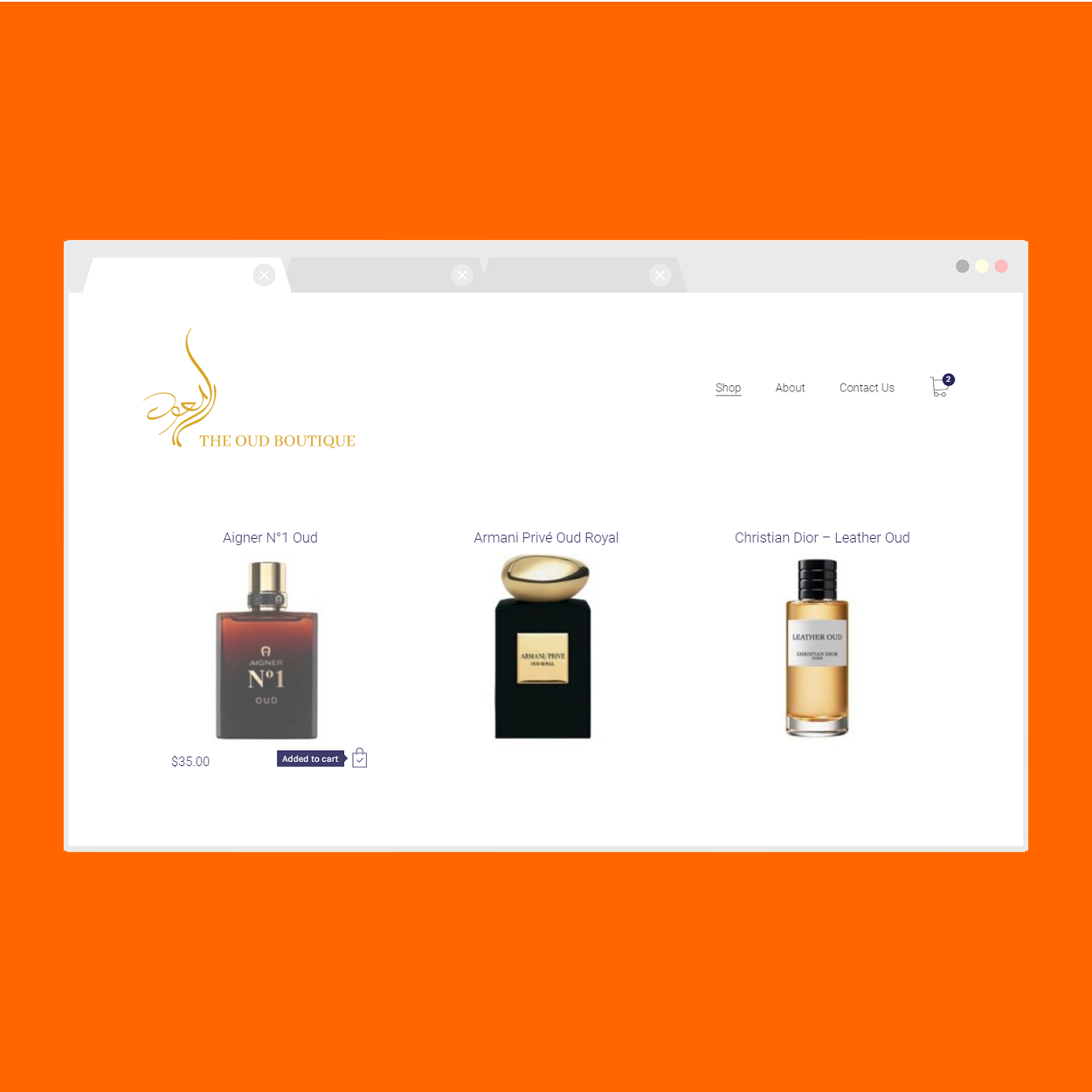 The Oud Boutique (Add to Cart)