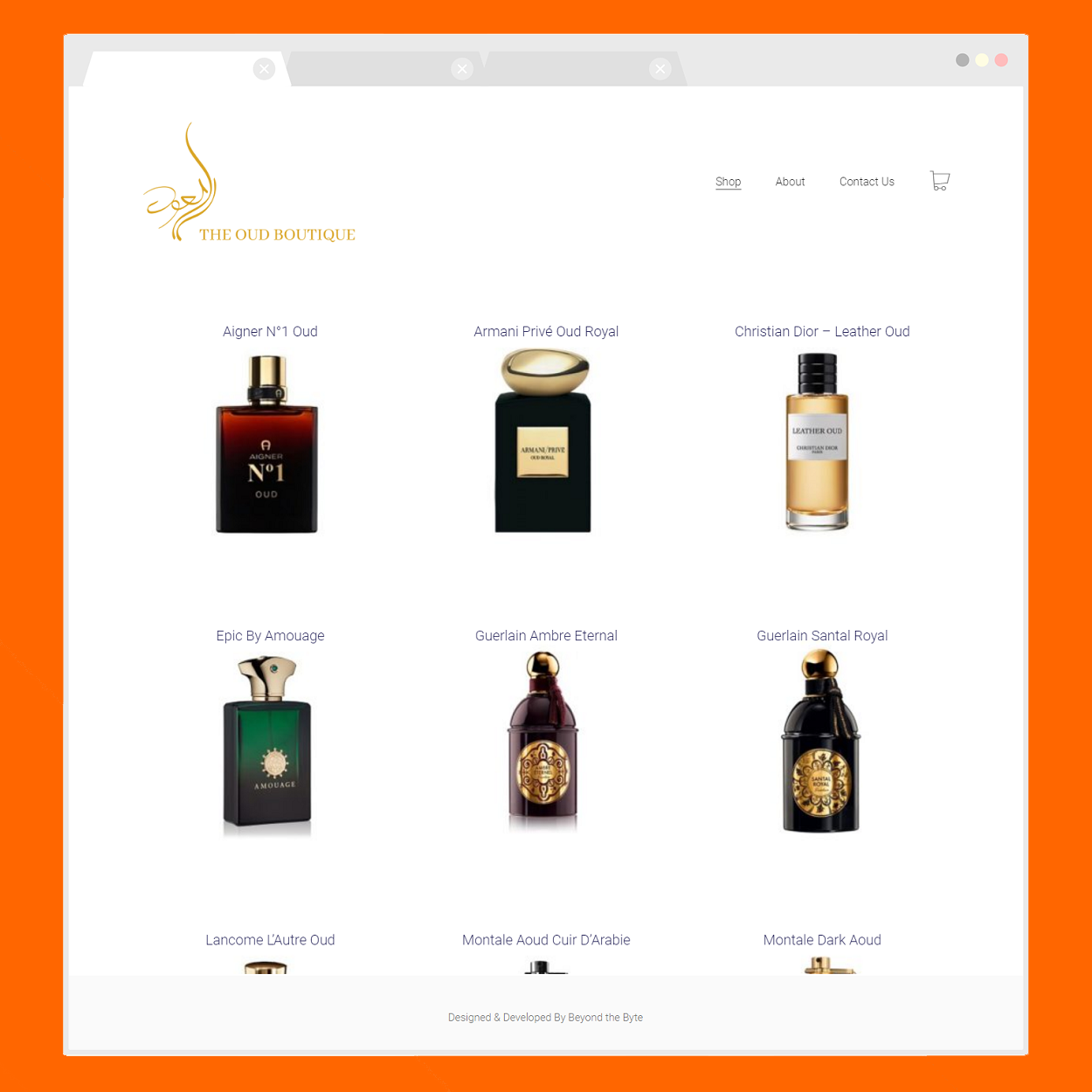 The Oud Boutique (Home Page)