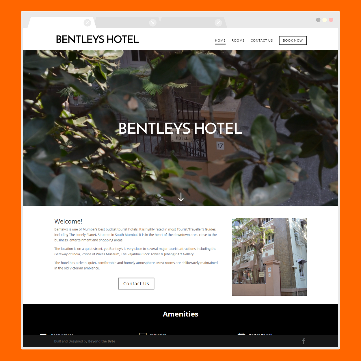 Bentley's Hotel (Home Page)